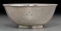 Silver Holloware, American:Bowls, A Frans Gyllenberg and Alfred Swanson Arts & Crafts SilverBowl, Boston, Massachusetts, circa 1925. Marks: F.GJ.R,STERLIN...