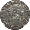 Mexico, Mexico: Charles & Johanna 2 Reales ND (1536-41)-MP XF Details(Mount Removed) NGC,...