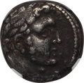 Ancients:Greek, Ancients: PHOENICIA. Tyre. Ca. 126/5 BC-AD 67/8. AR shekel (14.22gm). NGC VF 4/5 - 4/5....