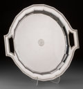 Silver Holloware, American:Trays, A Tiffany & Co. Special Hand Work Silver Tray, New York,circa 1907-1947. Marks: TIFFANY & CO, 17834 MAKERS 30...