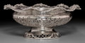 Silver & Vertu:Hollowware, A James Dixon & Sons Silver Reticulated Center Bowl, Sheffield, 1911. Marks: (lion passant), (crown), t, JD&S. 4-3/4 inc...