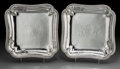 Silver Holloware, British:Holloware, A Pair of James Young George III Silver Entree Dishes, London,1791. Marks: (lion passant), (crowned leopard), (duty mark), ...(Total: 2 Items)