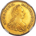 Austrian Netherlands, Austrian Netherlands: Maria Theresa gold 2 Souverain d'or 1772 IC-SK MS62 NGC,...