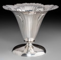 Silver Holloware, American:Vases, A Clemens Friedell Weighted Silver Poppy Blossom-Form Vase...