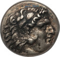 Ancients:Greek, Ancients: CARIAN ISLANDS. Cos. Ca. 285-258 BC. AR tetradrachm.ANACS VF 35, tooled....