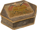 Political:3D & Other Display (pre-1896), John Quincy Adams: An 1828 Campaign Thread Box in Exceptional Condition.. ...