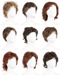 Music Memorabilia:Costumes, A Connie Francis Group of Wigs, Circa 1980s-1990s.... (Total: 9 )