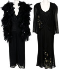 Music Memorabilia:Costumes, A Connie Francis Pair of Evening Gowns Worn Onstage,1990s-2000s.... (Total: 2 )