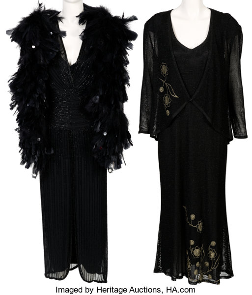 A Connie Francis Pair of Evening Gowns Worn | Lot #89149 | Heritage ...