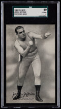 Boxing Cards:General, 1921 Exhibits James Jeffries SGC 80 EX/NM 6 - Pop One, None Higher! ...