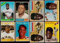 Baseball Cards:Lots, 1954-66 Topps Willie Mays Collection (8)....