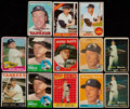 Baseball Cards:Lots, 1957-1968 Topps Mickey Mantle Collection (13)....