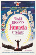 "Movie Posters:Animation, Fantasia (Buena Vista, R-1963). International One Sheet (27"" X 41""). Animation.. ..."