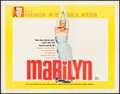 "Movie Posters:Documentary, Marilyn (20th Century Fox, 1963). Half Sheet (22"" X 28""). Documentary.. ..."