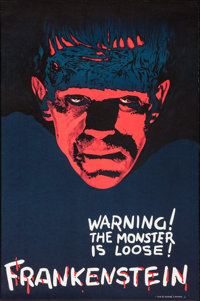 Frankenstein by Speranta Popper (S2 Art Group, 2000). Numbered Limited Edition Reproduction Poster on Heavy Stock Paper...