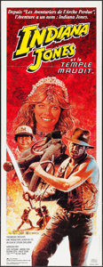 "Movie Posters:Adventure, Indiana Jones and the Temple of Doom (Cinema International, 1984).French Pantalon (23.5"" X 62""). Adventure.. ..."
