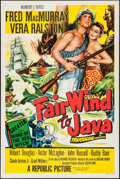 "Movie Posters:Adventure, Fair Wind to Java & Other Lot (Republic, 1953). One Sheet (27""X 41"") & Three Sheet (41"" X 79). Adventure.. ... (Total: 2Items)"