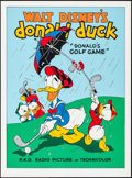 """Movie Posters:Animation, Donald's Golf Game (Circle Fine Art, R-1980s). Fine Art Serigraphs(2) (Identical) (22.5"""" X 30.5""""). Animation.. ... (Total: 2 Items)"""