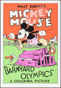 "Movie Posters:Animation, Barnyard Olympics (Columbia, R-1980s). Identical Serigraphs (2) (21"" X 31""). Animation.. ... (Total: 2 Items)"