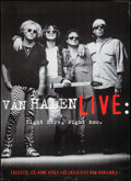 """Movie Posters:Rock and Roll, Van Halen Live: Right Here, Right Now (Warner Brothers, 1993).Poster (42"""" X 58""""). Rock and Roll.. ..."""
