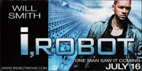 "I, Robot & Other Lot (20th Century Fox, 2004). Vinyl Banners (2) (60"" X 120"" & 59.75"" X 1..."