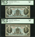 Canadian Currency: , Canada Montreal, PQ- The Royal Bank of Canada $20 Jan. 2, 1935 Ch.# 630-18-06a Two Examples.. ... (Total: 2 notes)