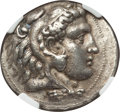 Ancients:Greek, Ancients: MACEDONIAN KINGDOM. Philip III Arrhidaeus (323-317 BC).AR tetradrachm (17.02 gm). NGC Choice XF 4/5 - 4/5, FineStyle....