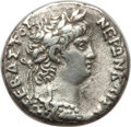Ancients:Roman Provincial , Ancients: SYRIA. Antioch. Nero (AD 54-68). AR tetradrachm (14.44gm). XF. ...