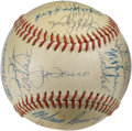 Autographs:Baseballs, 1980 New York Mets Team Signed Baseball. Tremendous ONL (Feeney)baseball that we make available here offers twenty-eight s...