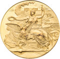 Miscellaneous Collectibles:General, 1896 Athens Summer Olympic Games Gold Participation Medal....