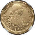 Colombia, Colombia: Charles IV gold Escudo 1806 P-JF AU55 NGC,...