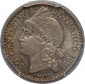 Dominican Republic, Dominican Republic: Republic 50 Centesimos 1891-A MS64NGC, ...