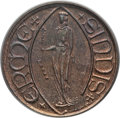 Luxembourg, Luxembourg: Banquede Bruxelles Medallic Specimen copper 40 FrancsND (1963) SP65 Red and Brown PCGS,...