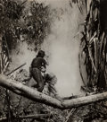 Photographs, W. Eugene Smith (American, 1918-1978). Mother and child running, Saipan, 1944-1945. Gelatin silver, printed circa 1950s...