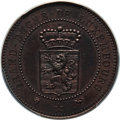 Luxembourg, Luxembourg: Duke Adolph copper 10 Centimes Essai 1889 SP63 BrownPCGS,...