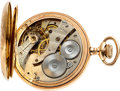 Timepieces:Pocket (post 1900), Waltham Unique School Chronometer Escapement Watch, circa 1902. ...