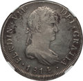 Chile, Chile: Ferdinand VII 8 Reales 1814 So-FJ VF Details (EnvironmentalDamage) NGC,...