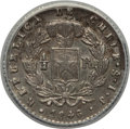 Chile, Chile: Republic 1/2 Real 1846 So-IJ AU58 ANACS,...
