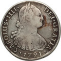 Chile, Chile: Lot of Chilean Silver with Problems,... (Total: 5 coins)