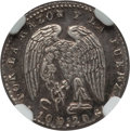 Chile, Chile: Republic 1/2 Real 1844 So-IJ MS62 NGC,...