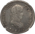 Chile, Chile: Ferdinand VII 8 Reales 1816 So-FJ XF45 NGC,...