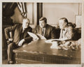 Baseball Collectibles:Photos, 1927 Babe Ruth Original News Photograph, PSA/DNA Type 1....