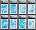 "Non-Sport Cards:Lots, 1971 Topps ""Brady Bunch"" GAI-Graded Printer Proofs (10). ..."