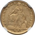 Chile, Chile: Republic gold 2 Pesos 1856-So XF45 NGC,... (Total: 2 coins)