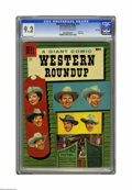 Silver Age (1956-1969):Western, Dell Giant Comics Western Roundup #14 File Copy (Dell, 1956) CGCNM- 9.2 Off-white to white pages. Photo cover. Overstreet 2...