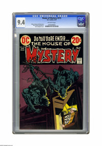 House of Mystery #213 (DC) CGC NM 9.4 Off-white pages. Bernie Wrightson cover art. Alex Nino interior art. Overstreet 20...