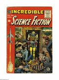 Golden Age (1938-1955):Science Fiction, Incredible Science Fiction #32 (EC, 1955) Condition: VG. Jack Daviscover. Davis, Al Williamson, Bernard Krigstein, and Roy ...