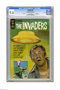 The Invaders #1 File Copy (Gold Key, 1967) CGC NM+ 9.6 Off-white to white pages. Dan Spiegle art. Front and back photo c...