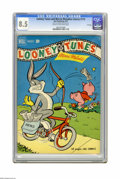 Golden Age (1938-1955):Cartoon Character, Looney Tunes and Merrie Melodies Comics #118 File Copy (Dell, 1951) CGC VF+ 8.5 Cream to off-white pages. Overstreet 2005 VF...