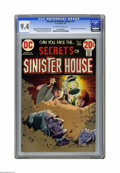 Bronze Age (1970-1979):Horror, Secrets of Sinister House #11 (DC) CGC NM 9.4 Off-white to whitepages. Jack Sparling cover art. Alex Nino interior art. Inc...